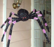 spider, halloween decorations, seasonal holiday d cor, Huge hairy legs I believe this one traveled through a nuclear power plant area in transit to my home which would explain the size and coloring