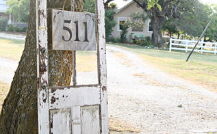 make an address sign, home maintenance repairs