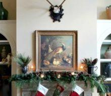 traditional, seasonal holiday decor