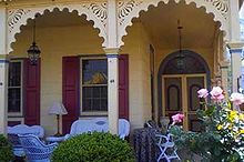 exterior trim options create unique porches, curb appeal, porches, On this particular porch the spandrels create arches between the columns giving the porch a softer more comfortable look