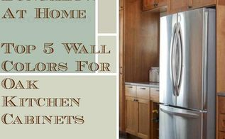 5 top wall colors for kitchens with oak cabinets, kitchen design, paint colors, painting, wall decor, Top 5 Colors For Oak Cabinet Kitchens