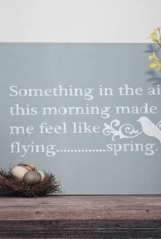 time to think spring, seasonal holiday d cor, spring mantel in the works