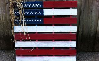 american flag love our heros, crafts, pallet, patriotic decor ideas, seasonal holiday decor