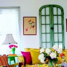 ways to use salvaged windows, home decor, living room ideas, repurposing upcycling, From Better Homes and Gardens
