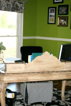 home office makeover, craft rooms, home decor, home office, The before