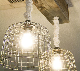 Make Your Own Light Fixtures, Crafts, Electrical, Lighting