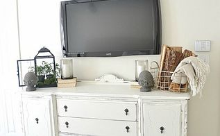diy buffet makeover with diy chalk paint, chalk paint, painted furniture