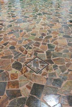 broken stone mosaic, flooring, tile flooring, tiling
