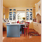 avoid painted kitchen cabinet disasters with these 5 incredibly useful, kitchen cabinets, kitchen design, painting, A Fabulous Country Chic Kitchen viaThe Paint Studio