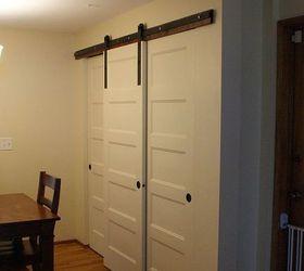 New Pantry Build With Sliding Barn Style Doors Budgetupgrade, Closet, Doors,  Home Decor