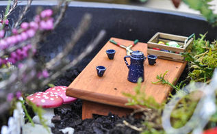 make your own toadstools for your fairy garden, crafts, gardening, Or maybe at the little tea party nestled in the garden Supply list for these teensy weensy accessories at the link below