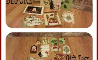 repurposing christmas cards, christmas decorations, repurposing upcycling, seasonal holiday decor