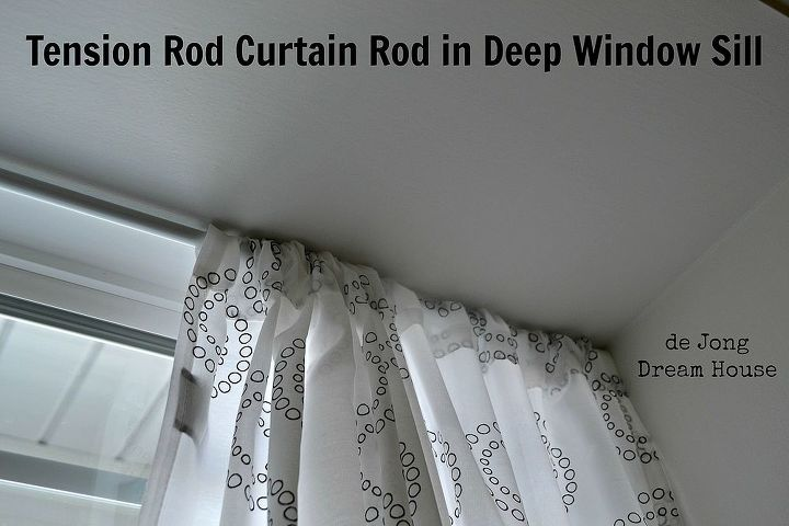 Uses For Tension Rods Hometalk
