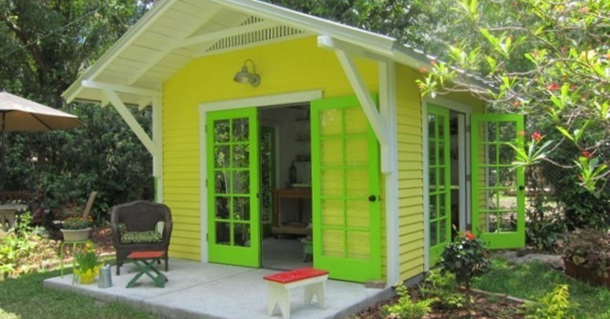 Sunny Artist Studio Shed Hometalk