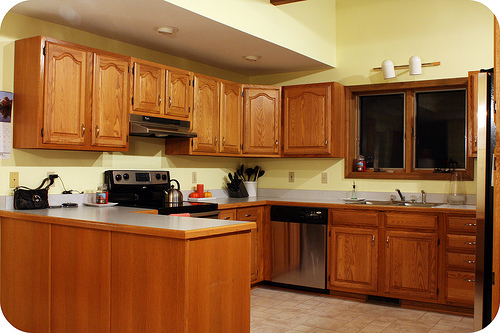 5 top wall colors for kitchens with oak cabinets kitchen design paint colors - Kitchen Design With Oak Cabinets
