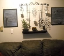 it was time to change the wall again, crafts, home decor, living room ideas, The result Happiness