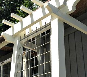 Easy Garden Trellis, Diy, Outdoor Living, Woodworking Projects, Add  Architectural Interest With