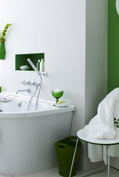decorate with green, home decor