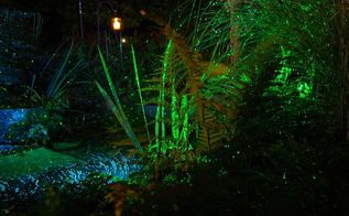 garden lighting, gardening, landscape, lighting