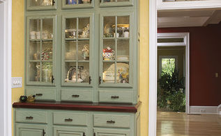 custom furniture pieces which is your favorite, painted furniture, A Sage Breakfront Hutch With Hand Made Wood Bar