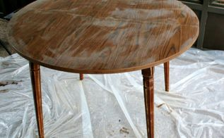 priming and prepping laminate furniture, painted furniture, Here the table is clean but sanded