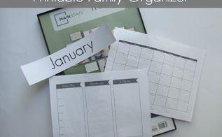 diy kitchen wipe off board family organizer, kitchen design, organizing