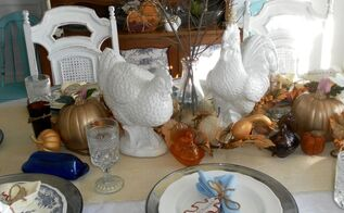 my thanksgiving tablescape thanksgiving, seasonal holiday d cor, thanksgiving decorations, Thanksgiving Tablescape