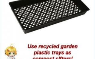 inexpensive and easy diy compost sifter, composting, gardening, go green