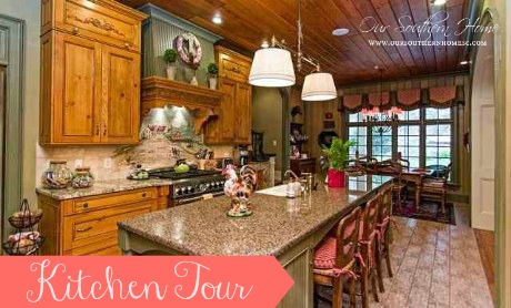 French Country Kitchen Tour Home Decor Kitchen Design Kitchen Island Here Is