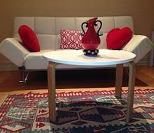 coffe table redo scandinavian style, painted furniture