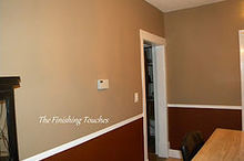 dining room makeover painting, dining room ideas, painting, Dining room walls