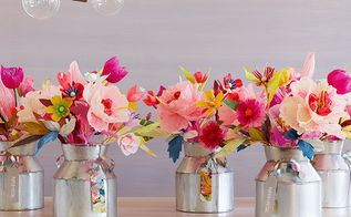 paper flower frames ornaments diy wednesday, crafts, Fun colorful paper flower bouquets which can make your home glow in elegant beauty More on how to make them