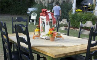 country living style wedding reception, home decor, outdoor living
