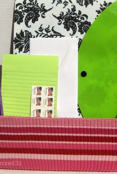 upcycled organizing boxes, crafts, repurposing upcycling, The organizing uses are endless