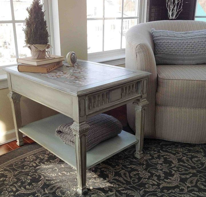 10 Table Upcycled With Mod Podge Chalk Paint Home Decor Living