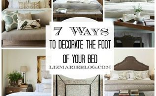 7 ways to decorate the foot of your bed, bedroom ideas, electrical, home decor, 7 ways to decorate at the foot of your bed
