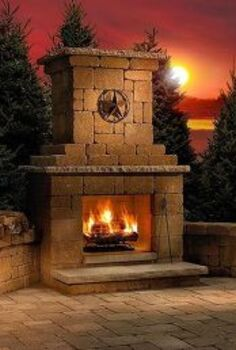 landscaping fireplaces outdoor living, decks, fireplaces mantels, outdoor living
