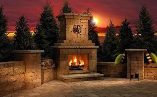landscaping fireplaces outdoor living, decks, fireplaces mantels, outdoor living