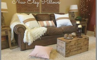 new custom made pillows from etsy love, home decor, living room ideas