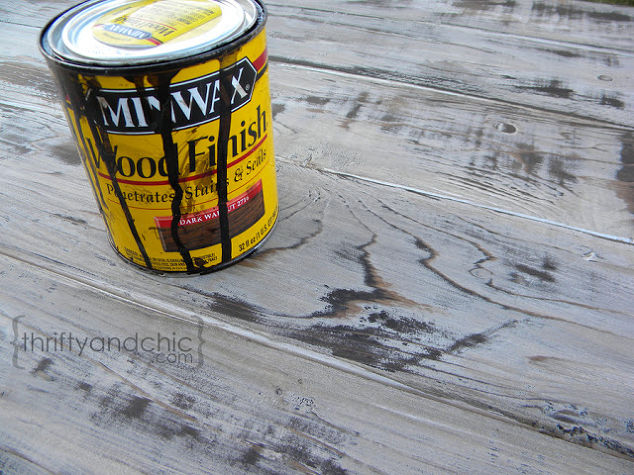 The Trick To Making New Wood Look Old And Weathered Hometalk