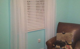 transform your room with faux or wood blinds we did, window treatments, windows, Transform your room with faux or wood blinds