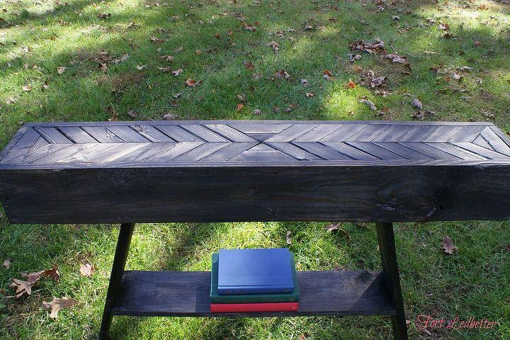 Diy Pallet Entryway Table Tutorial Hometalk