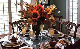 fall tablescape, flowers, gardening, home decor, landscape, outdoor living