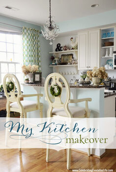 my budget kitchen makeover, home decor, kitchen design, My Budget Kitchen Makeover from Celebrating Everyday Life with Jennifer Carroll