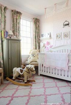 little girl s pink amp green bedroom, bedroom ideas, home decor, Pink and green little girl s bedroom