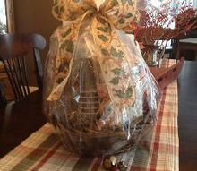 christmas basket, christmas decorations, crafts, mason jars, seasonal holiday decor