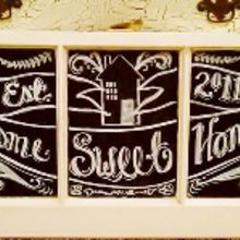 transform an old window with chalkboard paint amp markers, chalk paint, chalkboard paint, painting, repurposing upcycling