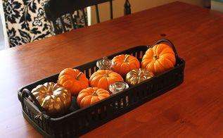 halloween fall decor tour, halloween decorations, seasonal holiday d cor, Simple Kitchen table decor