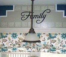 how to create a faux hand painted backsplash, kitchen backsplash, kitchen design, paint colors, painting, wall decor