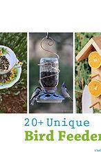 20 unique bird feeders the d i y dreamer
